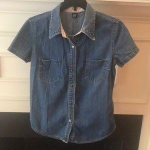 Vintage GAP denim shirt